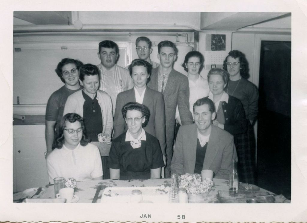 Bethel Temple Bible School Class of 1959